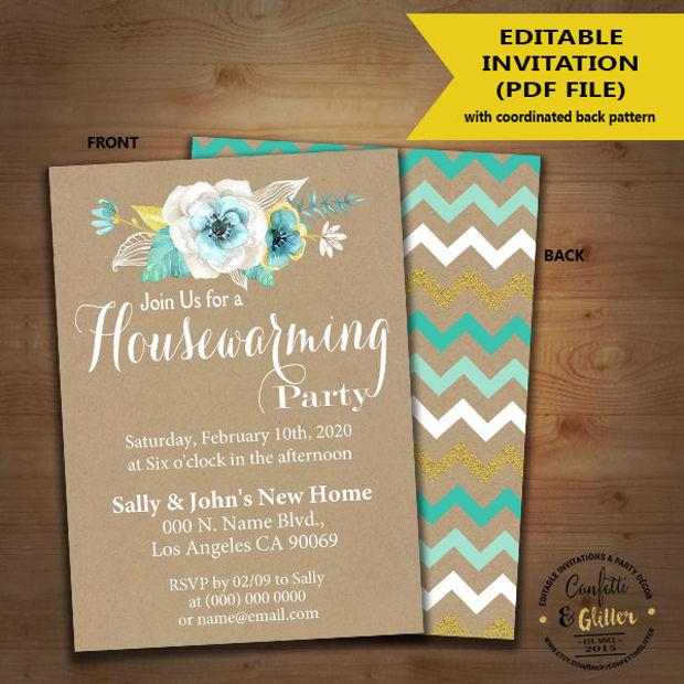 15+ Housewarming Invitations - Printable PSD, AI, EPS Design - housewarming invitation template