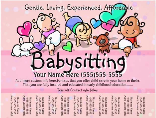 15+ Babysitter Flyer Templates - Printable PSD, AI, Vector EPS
