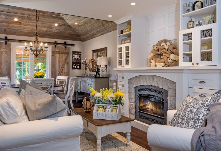 20+ Farmhouse Living Room Designs, Ideas Design Trends - Premium - farmhouse living room decor
