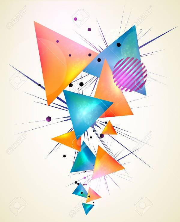 3d Geometric Shapes Wallpaper White 18 Geometric Shapes Psd Png Vector Eps Design