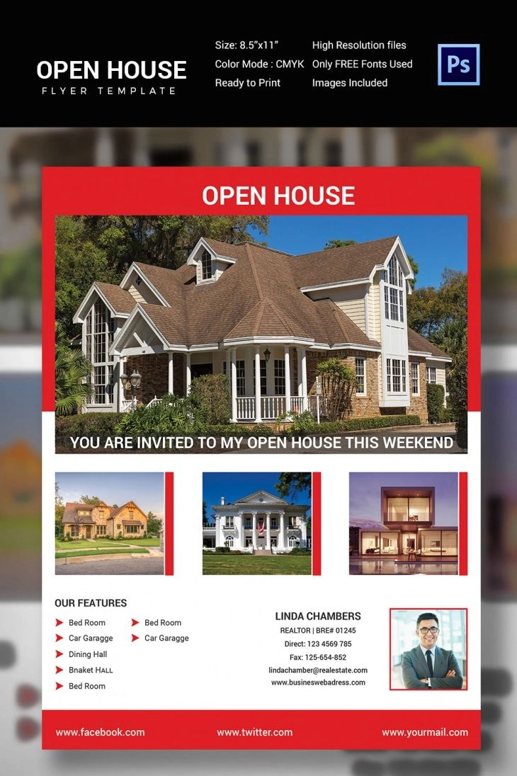 open house templates