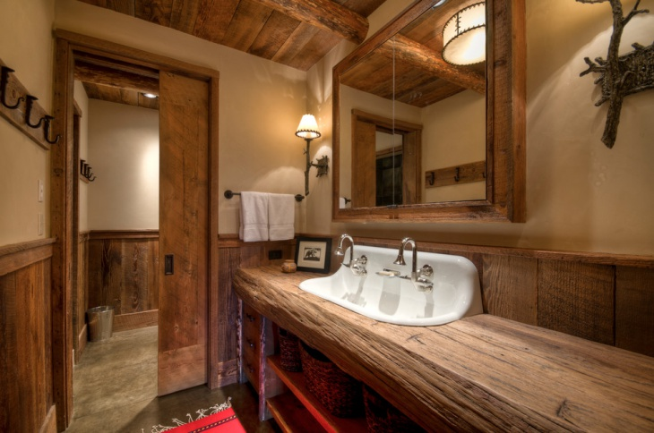 Landhausstil Naturholz 18+ Bathroom Countertop Designs, Ideas | Design Trends