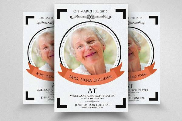 10+ Funeral Flyer Templates - Printable - PSD, AI, Vector EPS Format - funeral flyer template