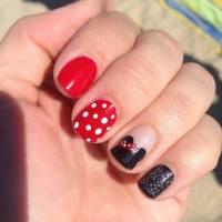 14+ Minnie Mouse Nail Art Designs, Ideas | Design Trends ...