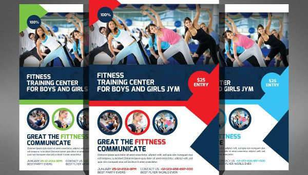 Fitness Flyer Designs Design Trends - Premium PSD, Vector Downloads