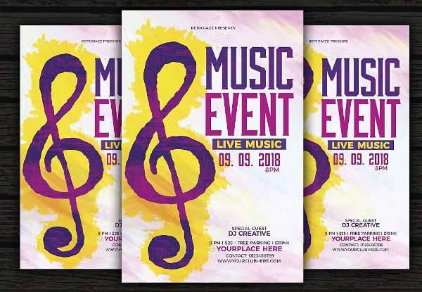 Music Flyer Designs Design Trends - Premium PSD, Vector Downloads