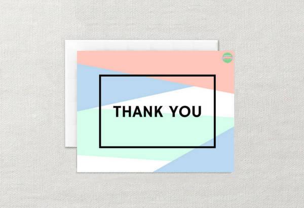 Thank You Card Design Design Trends - Premium PSD, Vector Downloads