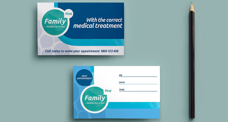 14+ Appointment Card Designs Design Trends - Premium PSD, Vector
