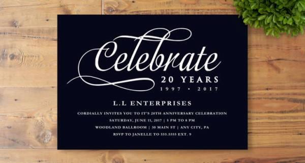 40+ Business Invitation Designs - PSD, AI, Word Design Trends