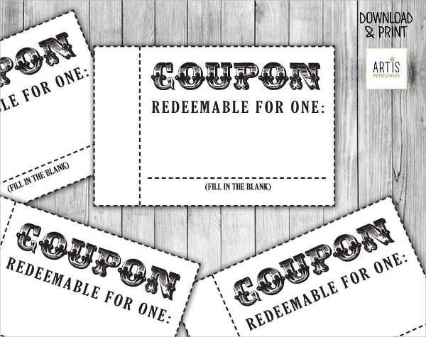 Coupon design free  Beaver coupons - coupon template free printable