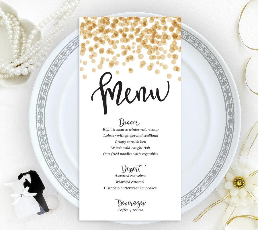 15+ Wedding Menu Card Designs Design Trends - Premium PSD, Vector