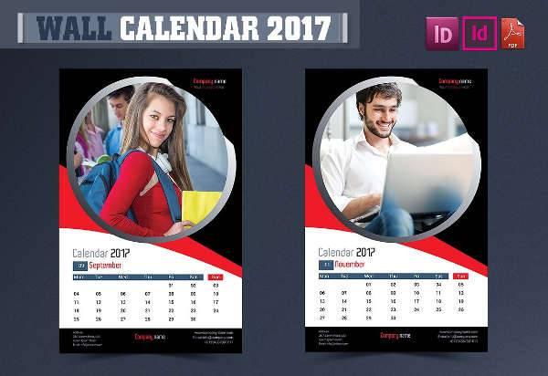 50+ Calendar Design Templates Design Trends - Premium PSD, Vector - calendar sample design