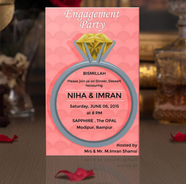 36+ Engagement Invitation Designs - PSD, AI, Word Design Trends