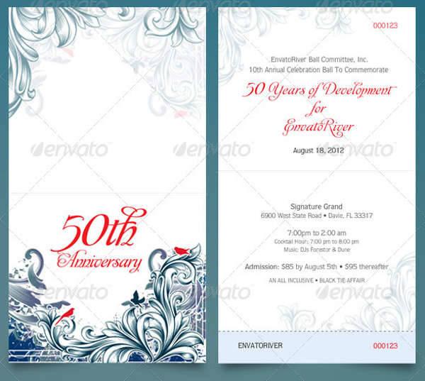 39+ Ticket Design Templates Design Trends - Premium PSD, Vector - Ball Ticket Template