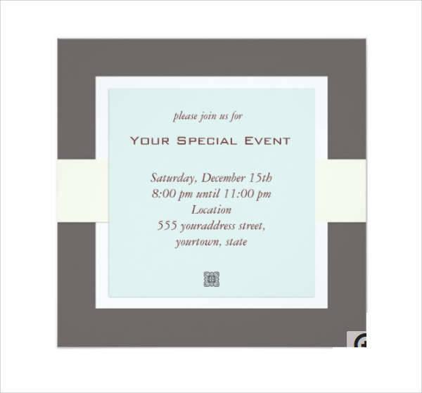 28+ Business Invitation Designs Design Trends - Premium PSD