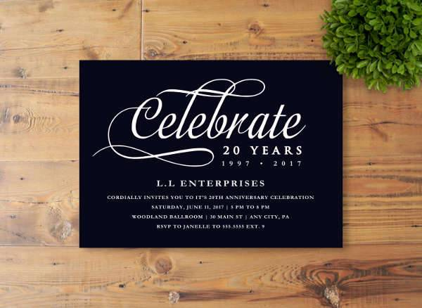 40+ Business Invitation Designs - PSD, AI, Word Design Trends