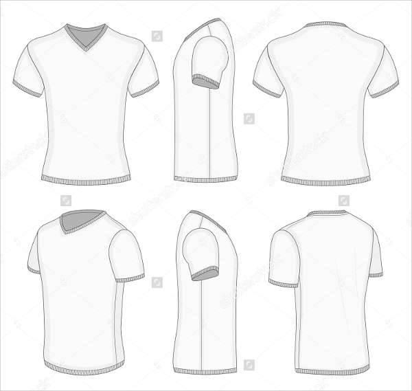 30+ T- Shirt Design Templates - PSD, EPS, AI, Vector Format - t shirt template