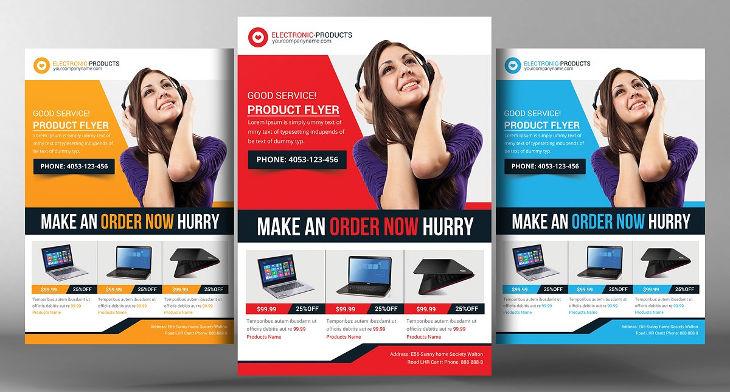 12+ Promotion Flyer Designs Design Trends - Premium PSD, Vector - promotional flyer designs