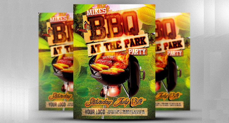 10+ BBQ Flyer Designs Design Trends - Premium PSD, Vector Downloads