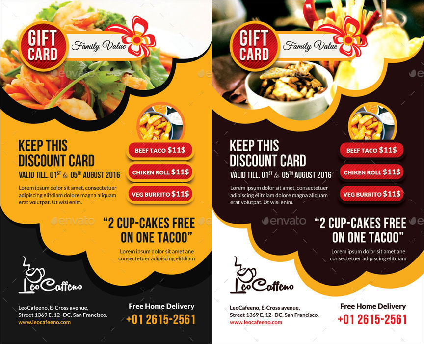 18+ Food Coupon Designs - PSD, Ai, Word Design Trends - Premium