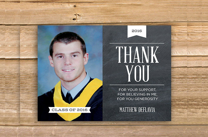 13+ Graduation Thank You Cards Design Trends - Premium PSD, Vector