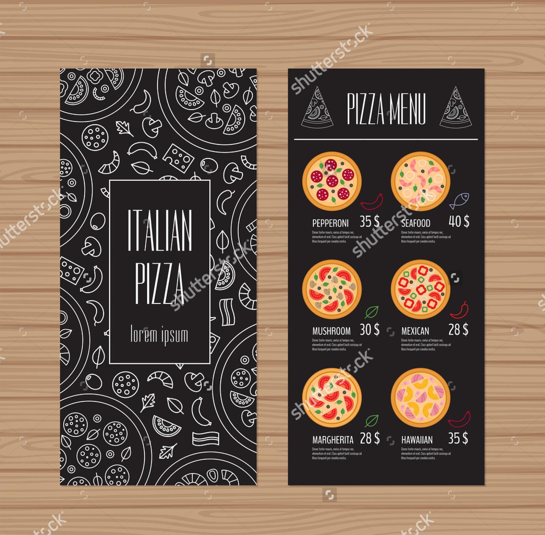 menu template designs