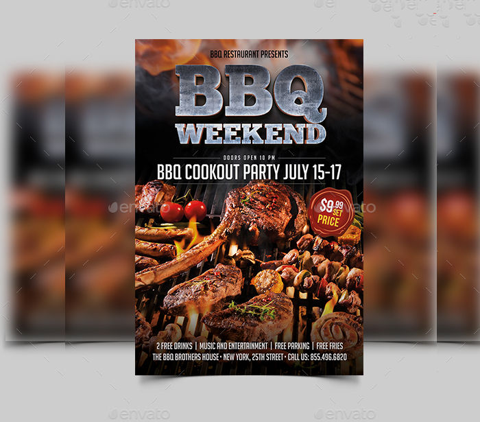 10+ BBQ Flyer Designs Design Trends - Premium PSD, Vector Downloads - bbq flyer