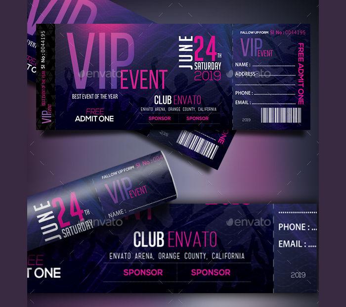 15+ Concert Ticket Templates Design Trends - Premium PSD, Vector