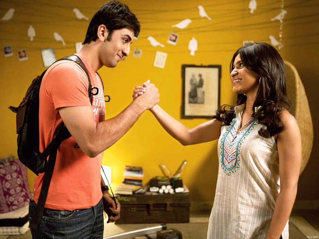 Smart College Girl Wallpaper Wake Up Sid Movie Rating Amp Reviews Story Songs News