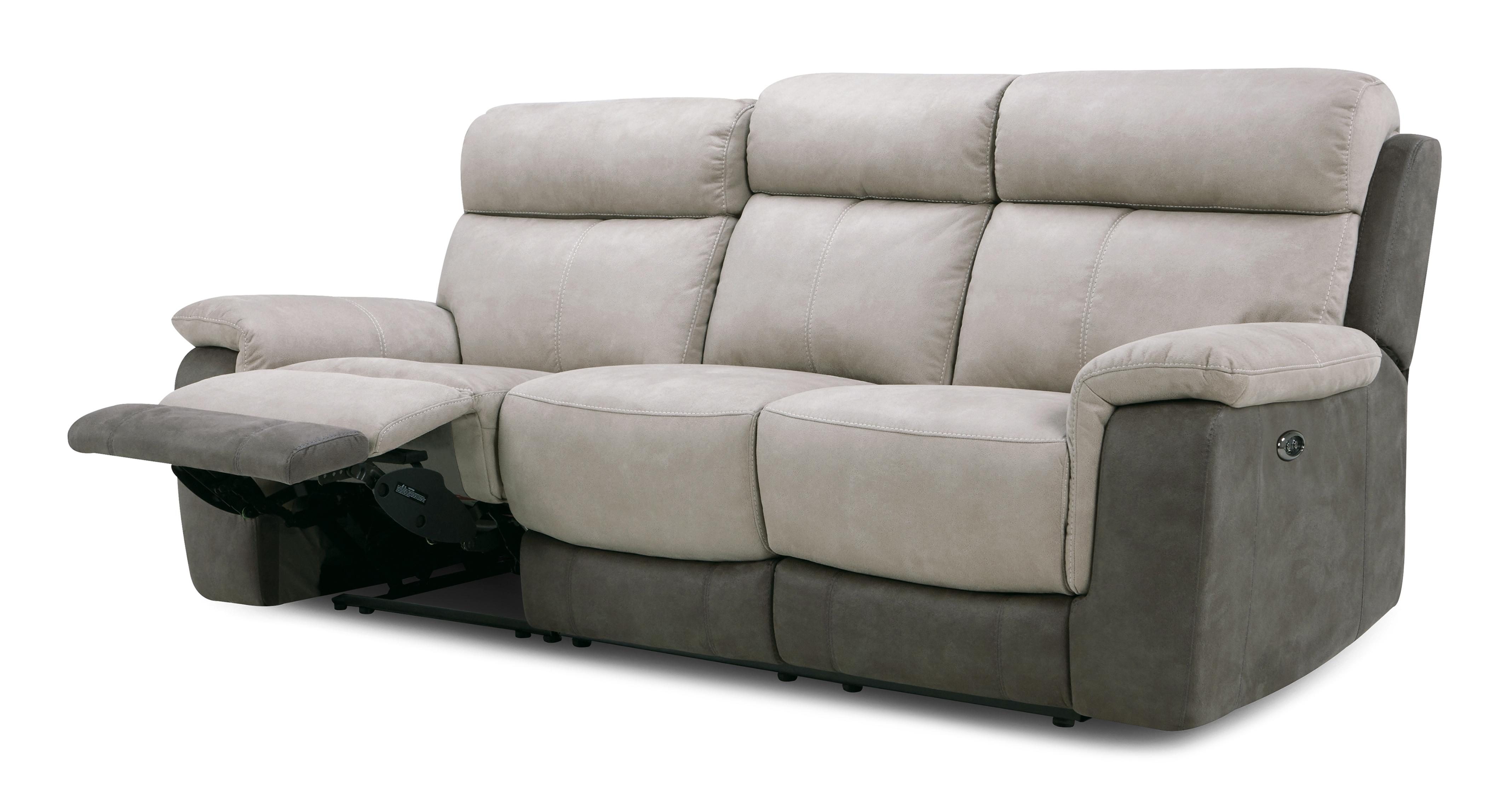 Sofa With Recliner Bingley 3 Seater Manual Recliner