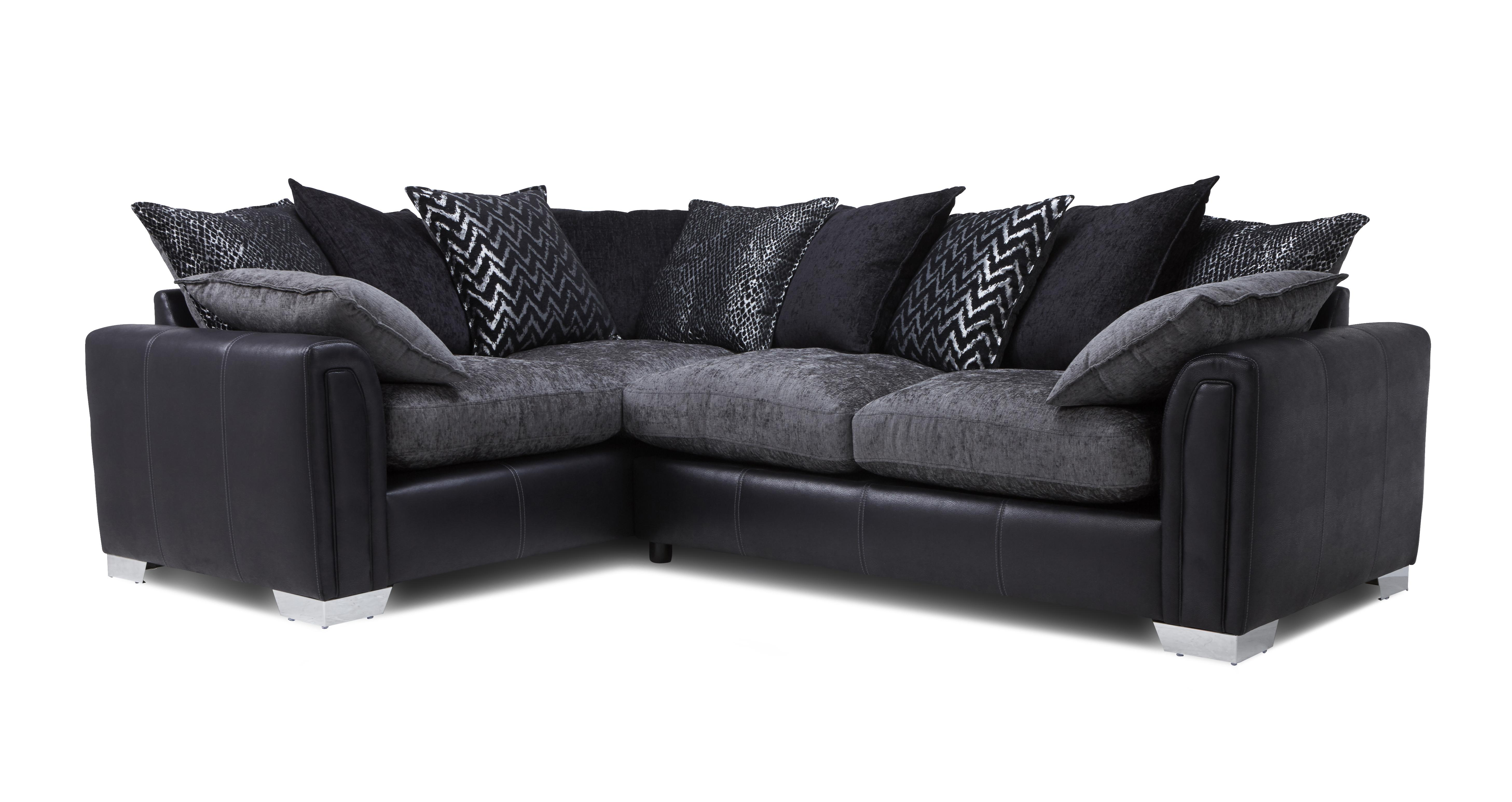Corner Sofa Bed Sale Edinburgh Carrara Right Hand Facing Pillow Back 3 Seater Deluxe Corner Sofa