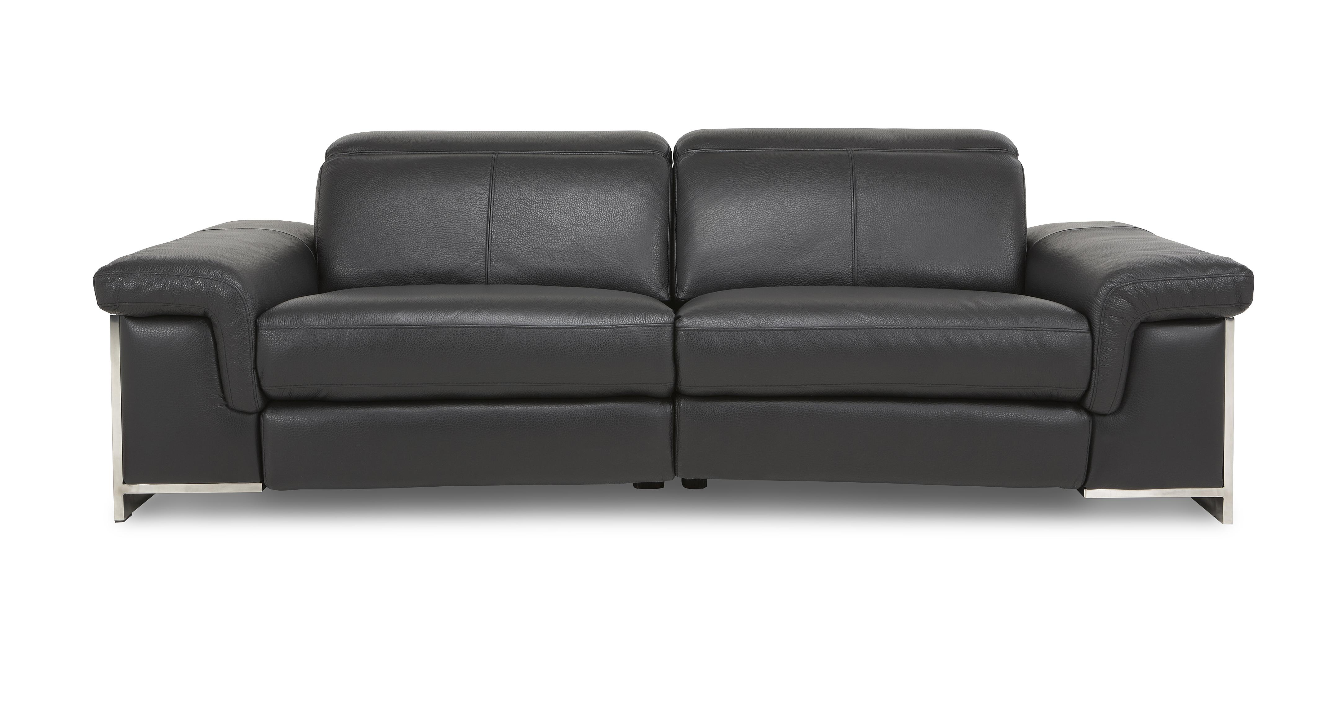 Dfs Leather Sofa Dfs Black Leather Recliner Sofa