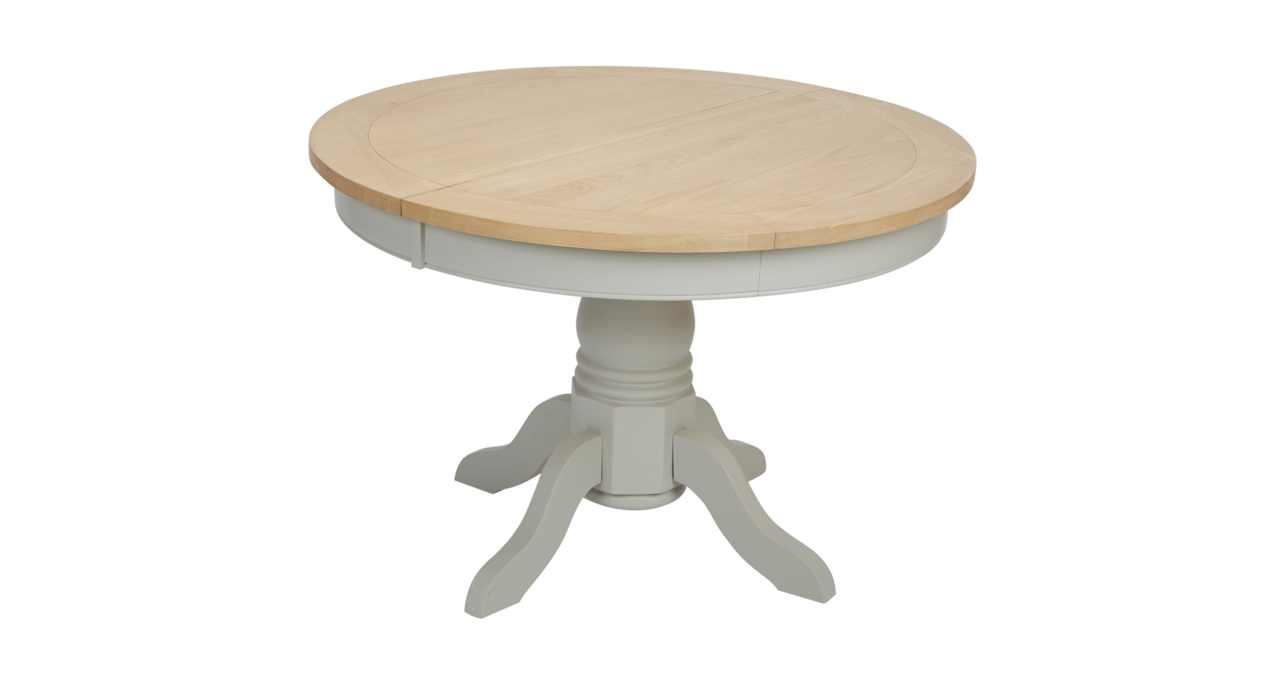 Dfs Sofa Care Harbour Round Extending Dining Table | Dfs
