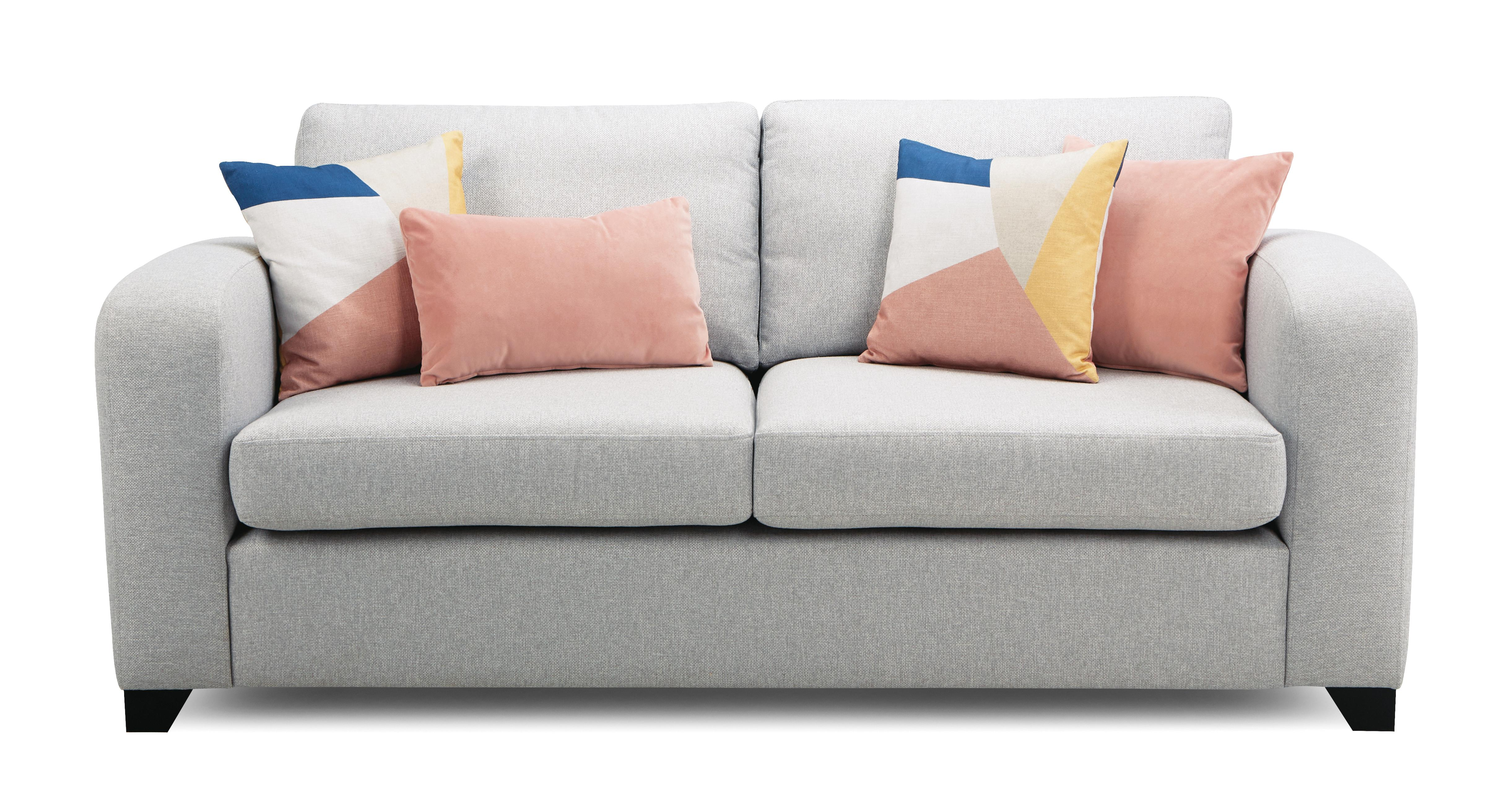 Couch Lila Layla 3 Seater Sofa Layla Plain | Dfs