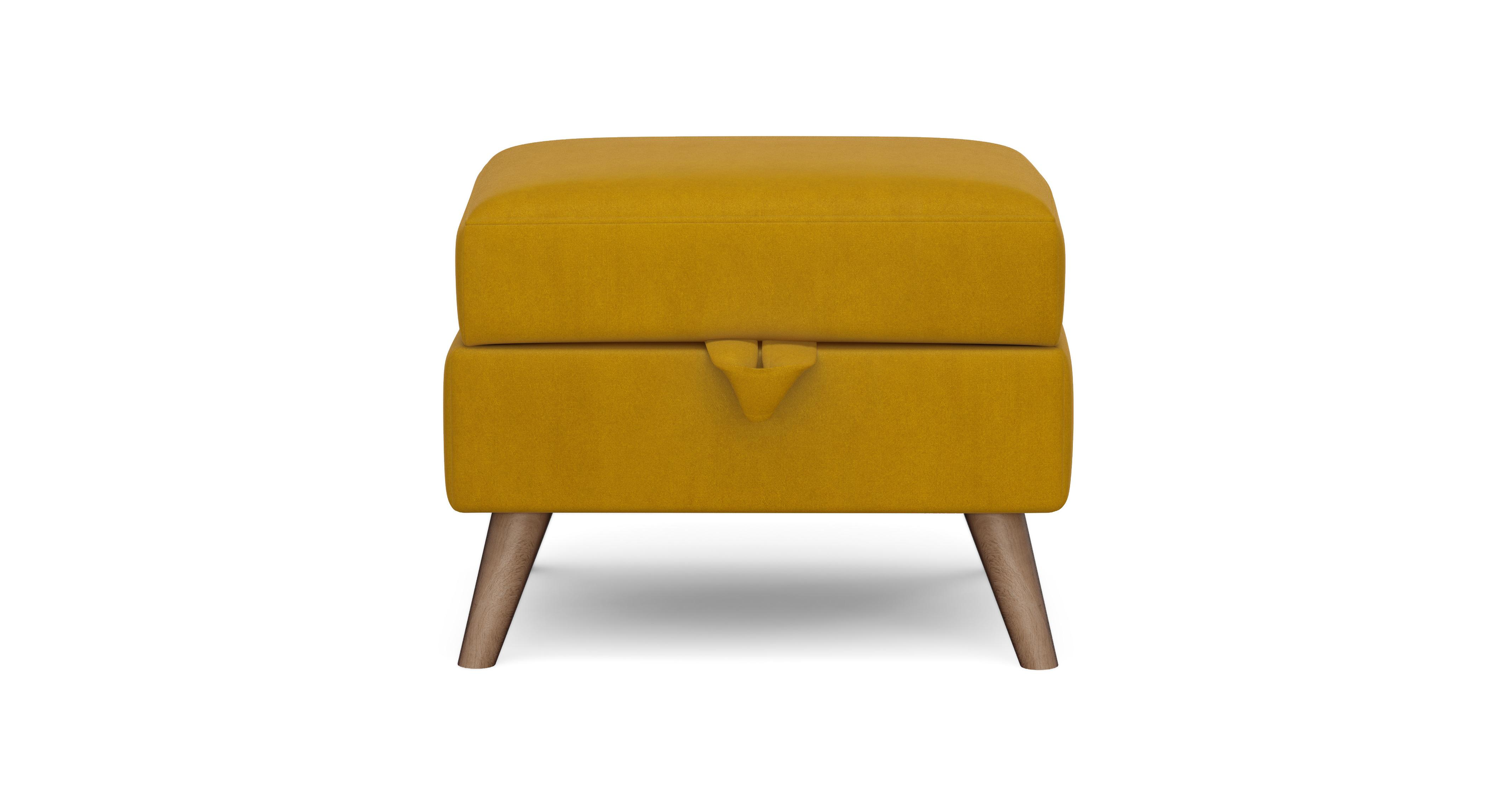 Dfs Sofa Care Laze Storage Footstool Velvet | Dfs
