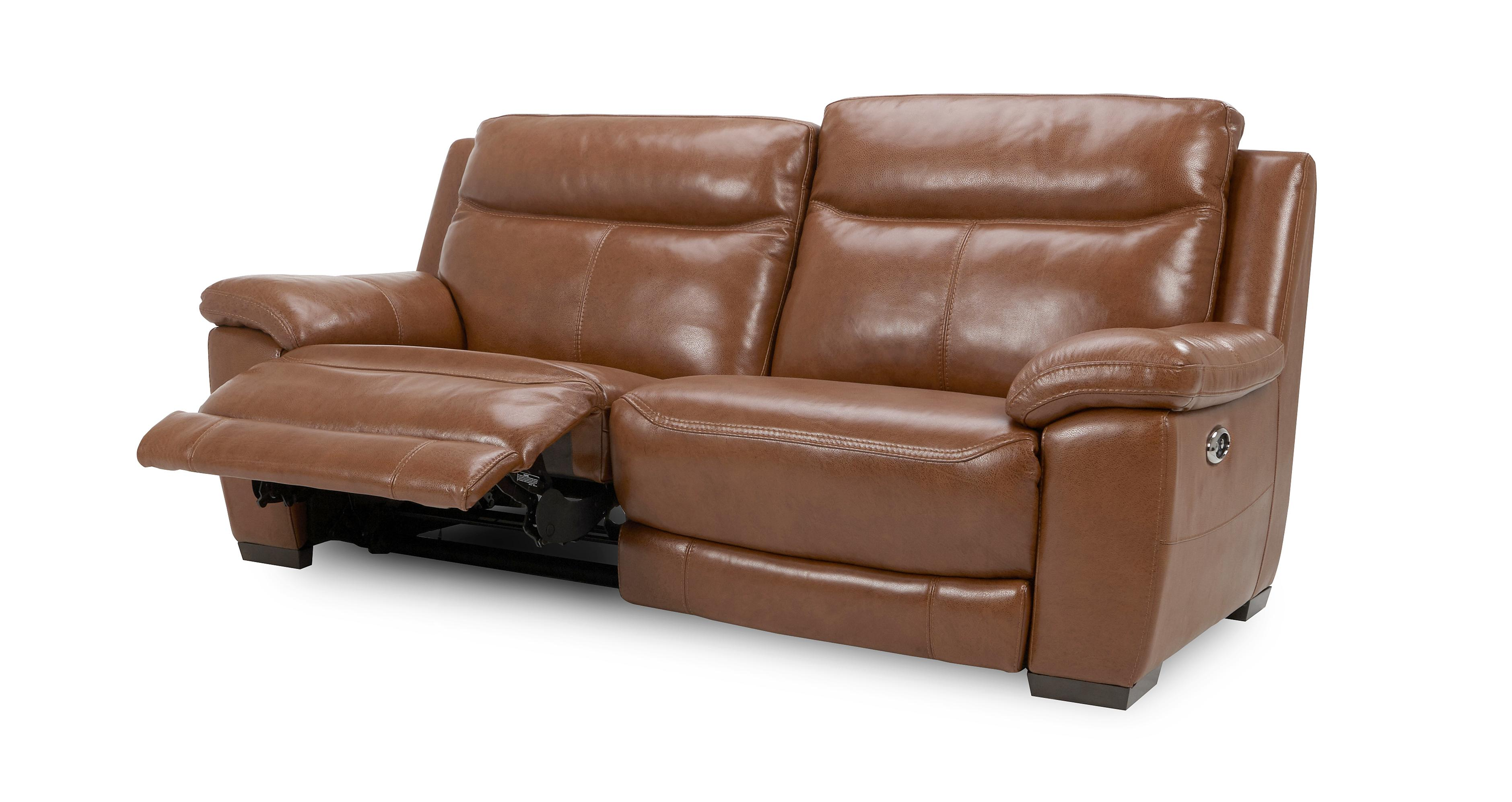 Dfs Sofa Care Liaison 3 Seater Electric Recliner Brazil With Leather