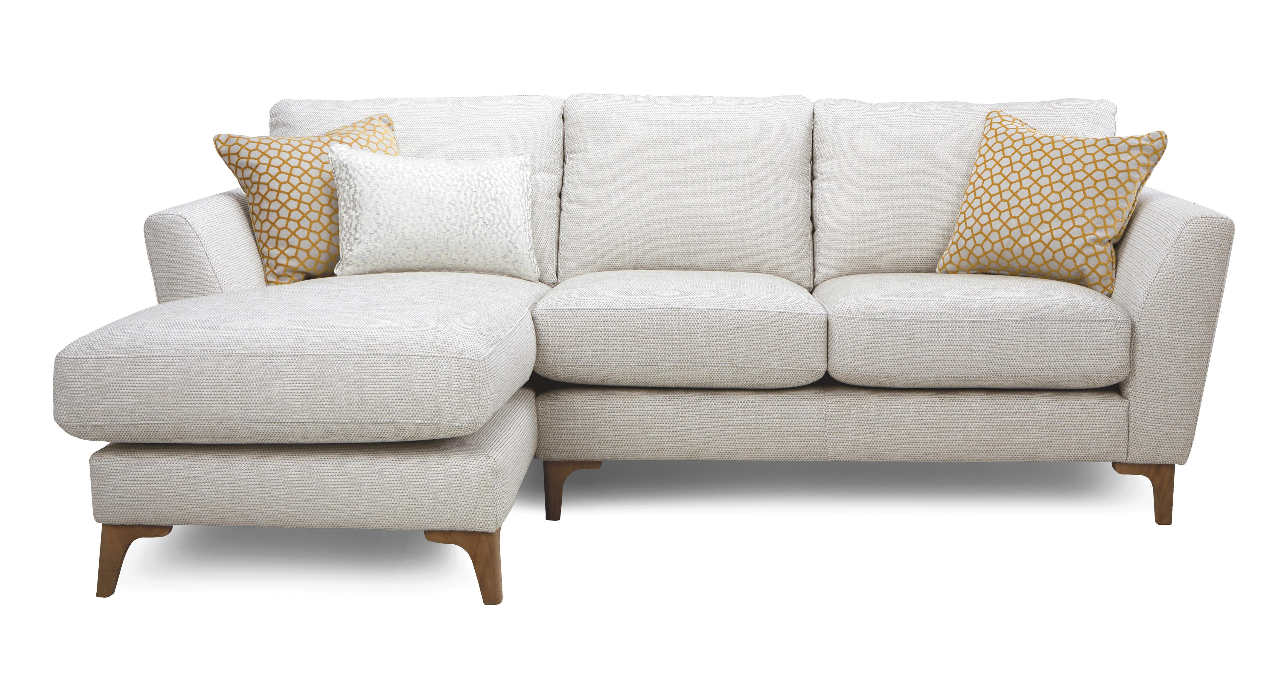 Libby Plain Left Hand Facing Chaise End 2 Seater Sofa Dfs