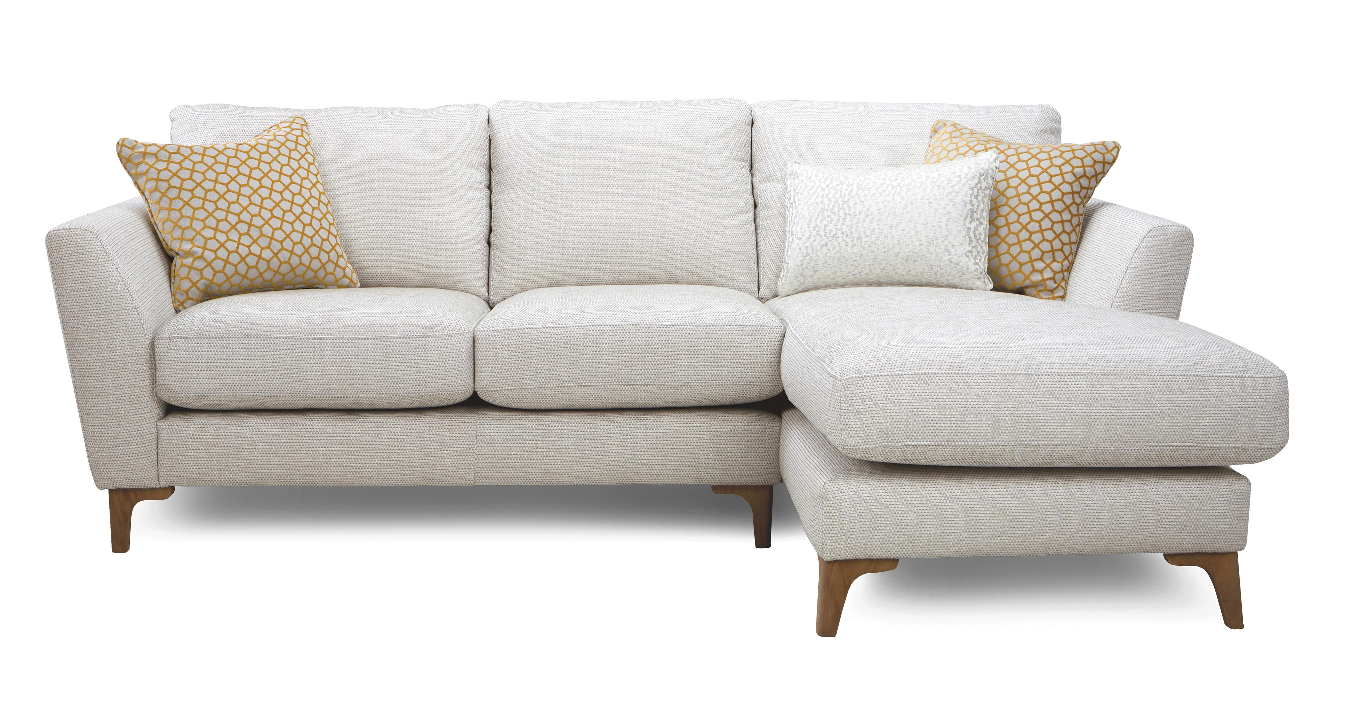 Libby Plain Right Hand Facing Chaise End 2 Seater Sofa Dfs