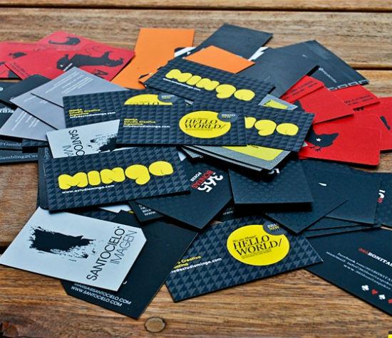 Online Business Cards Standard  Custom Cards