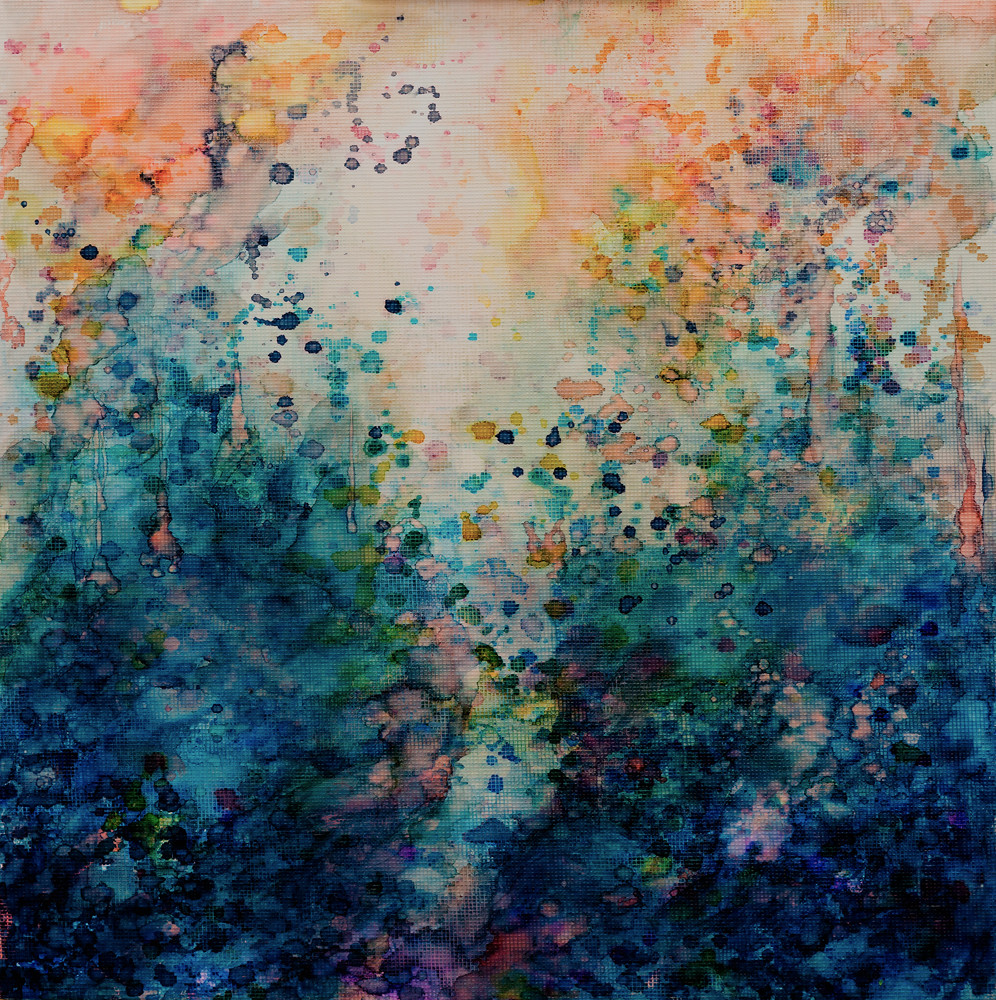 Contemporary Abstract Painting Sacred Land Contemporary Abstract Landscape Painting Samantha Kaplan