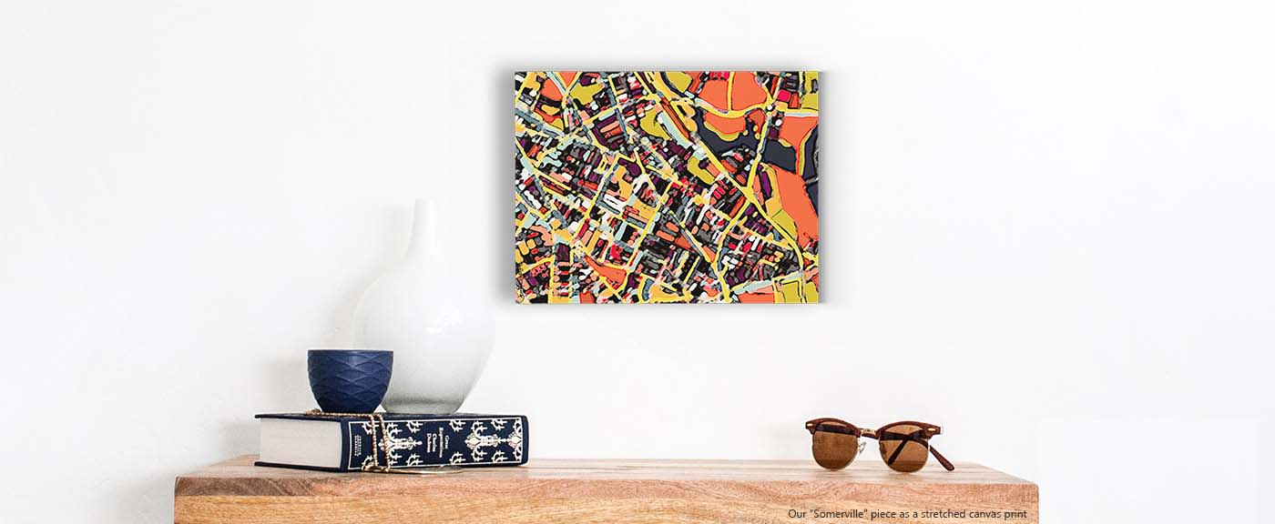 Abstract Art Prints On Canvas Abstract Art Prints Digitally Merged Illustrations And Paintings