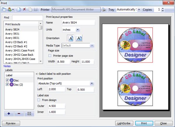 Cd Case Label Maker Software
