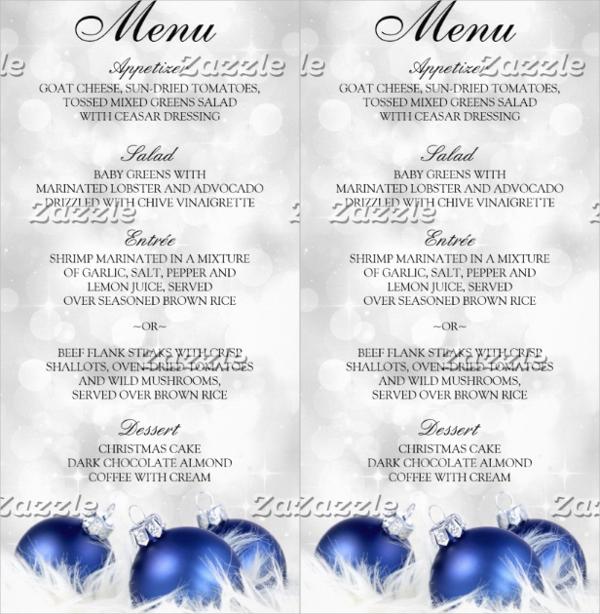 23+ Event Menu Templates - event menu template