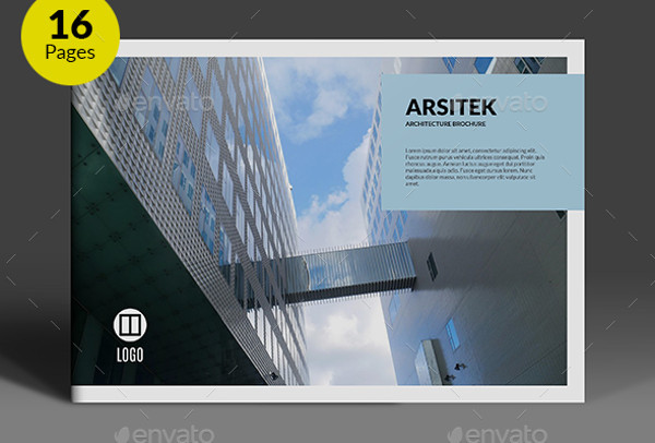 24 Real Estate Brochures - architecture brochure template