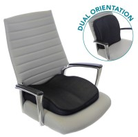 Memory Foam Seat Cushion for Lower Back Support & Seat ...