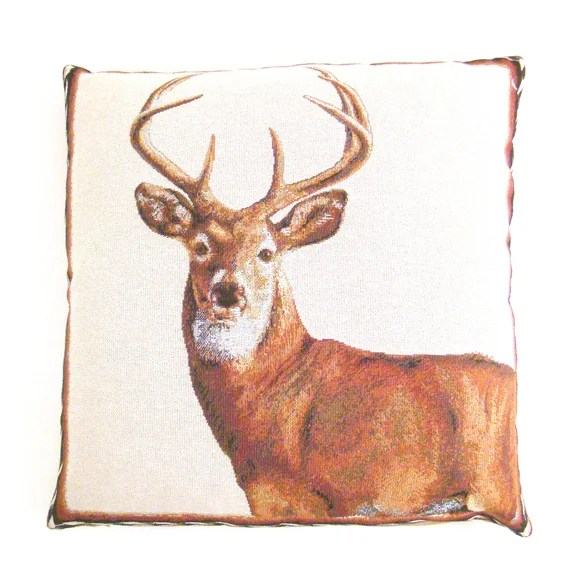 Stag Cushion Cover Dunelm
