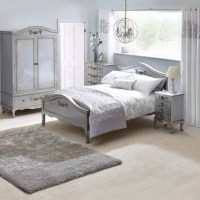 Toulouse Silver Bedroom Collection | Dunelm