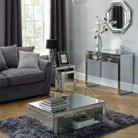 Venetian Mirrored Living Room Collection