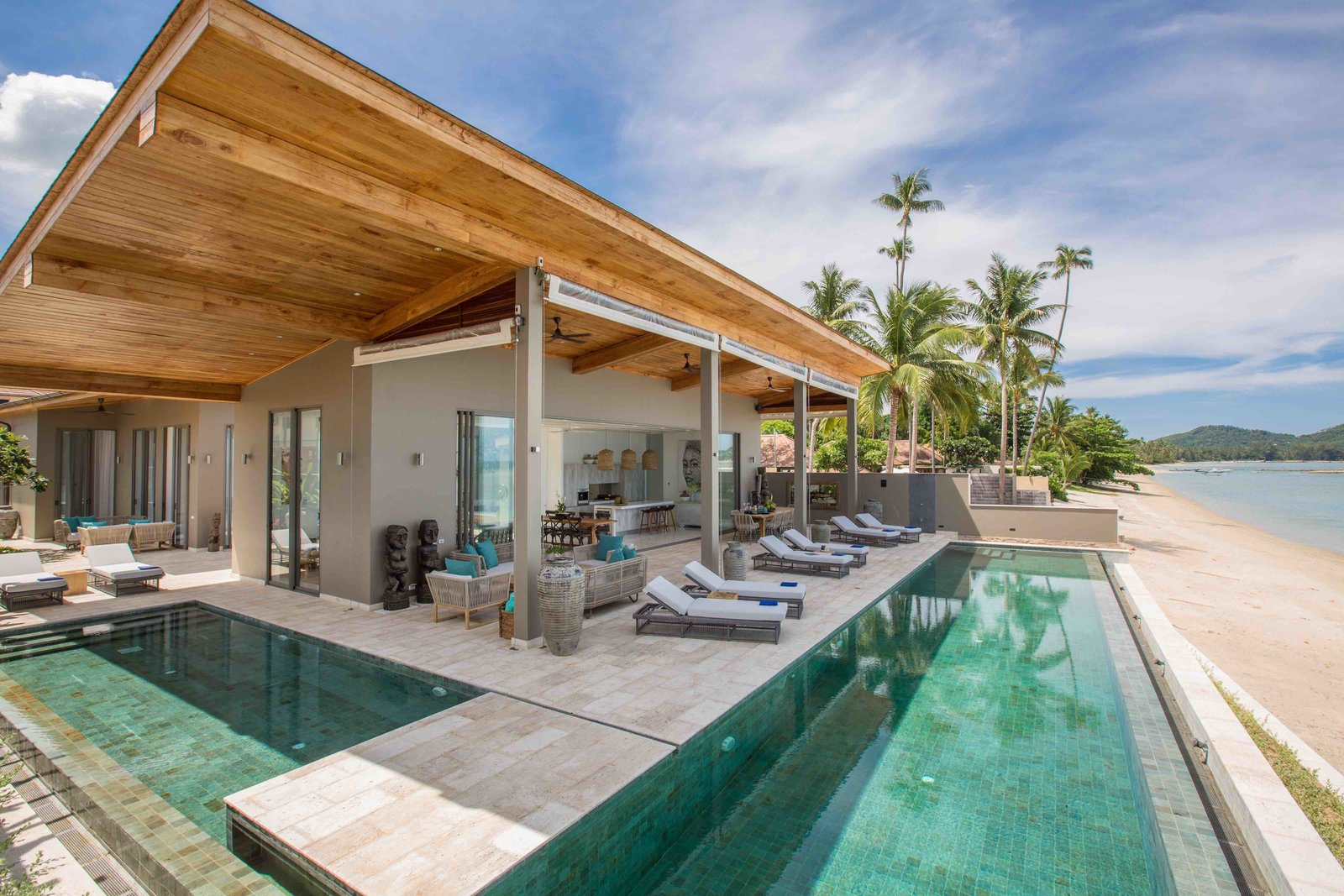 Infinity Pool Bauen Modern Pool Villa Best Interior Furniture