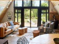 Best 60+ Modern Living Room Wood Burning Fireplace Design ...